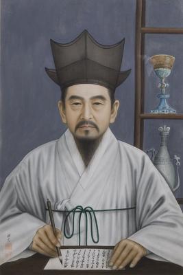 ▲최양업 토마스 신부 초상(정채석 작, 절두산 순교성지 제공)