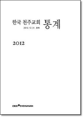 한국 천주교회 통계 2012