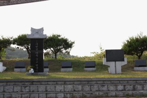 복자 구한선 타대오 묘소